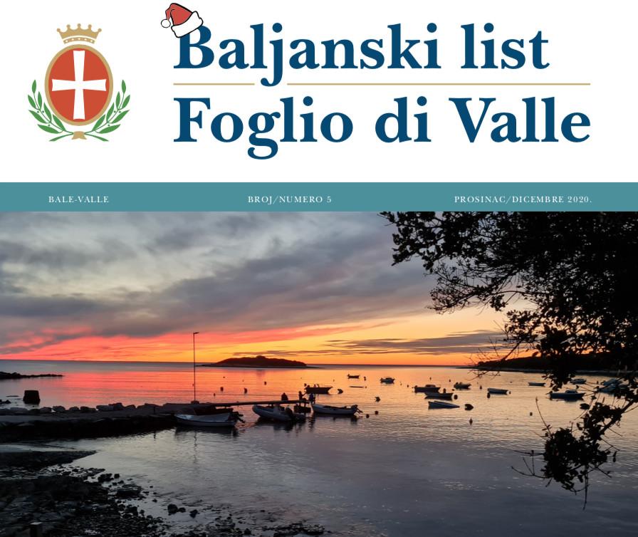 Baljanski list